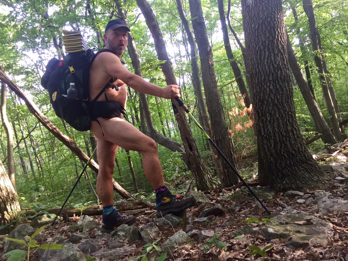 Naked Hiking Pictures